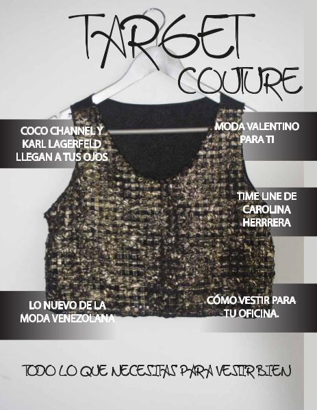 Target Couture Sofia Echezarreta Apr. 2016