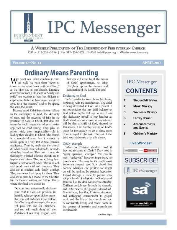 IPC Messenger 2017 April 2017