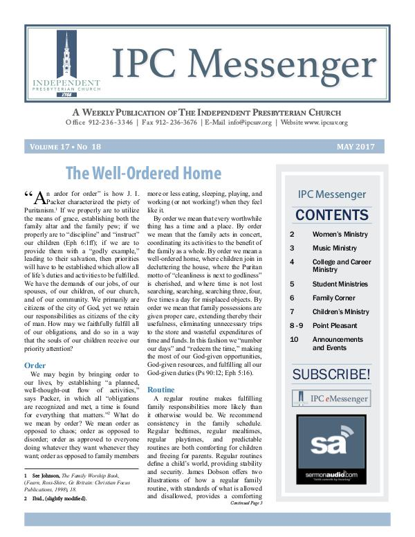 IPC Messenger 2017 May 2017