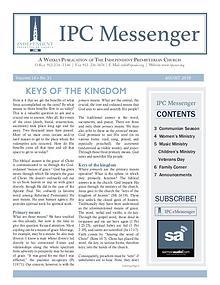 2018 Messenger August 2018 Messenger