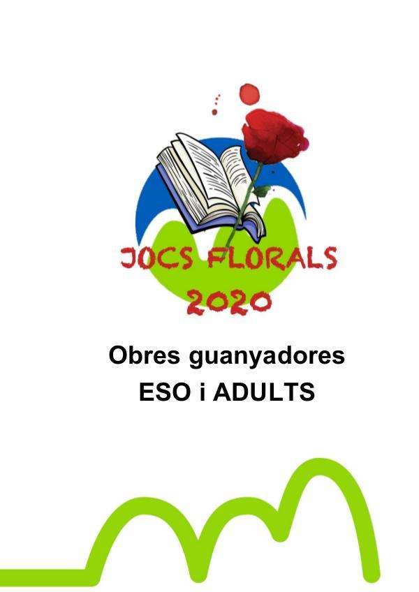 Jocs Florals 2020-obres guanyadores ESO i ADULTS Obres guanyadores ESO