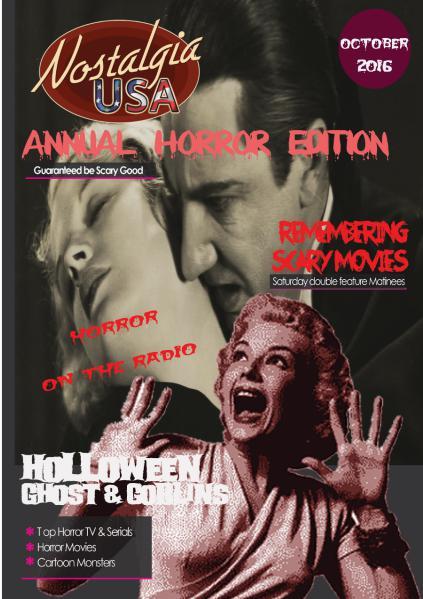 October 2016 Edition of Nostalgia USA October 2016 Edition of Nostalgia USA