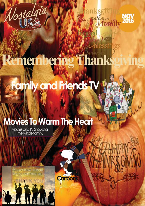 November 2016 Edition of Nostalgia USA November 2016 Editon of Nostalgia USA