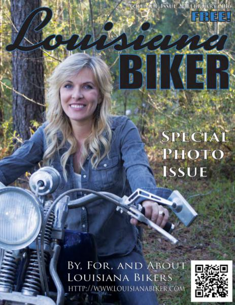 Louisiana Biker Magazine Feb2016