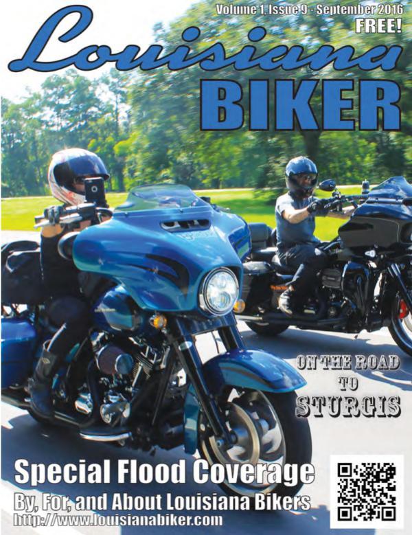 Louisiana Biker Magazine Sep2016