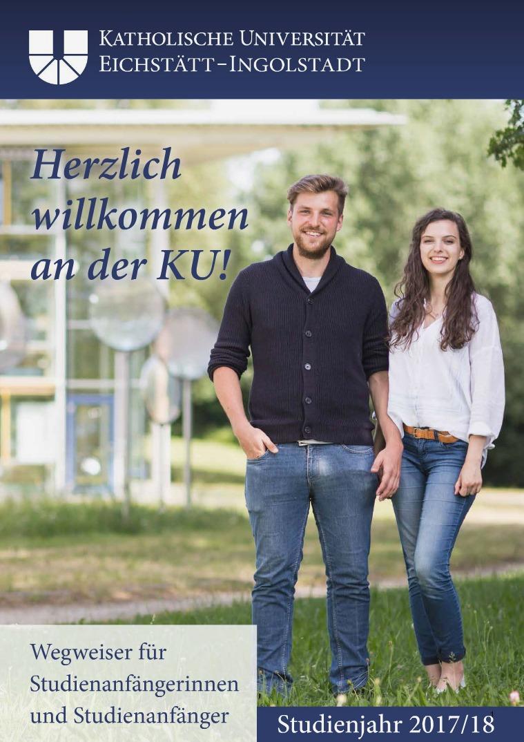 Die KU Wegweiser 2017/18