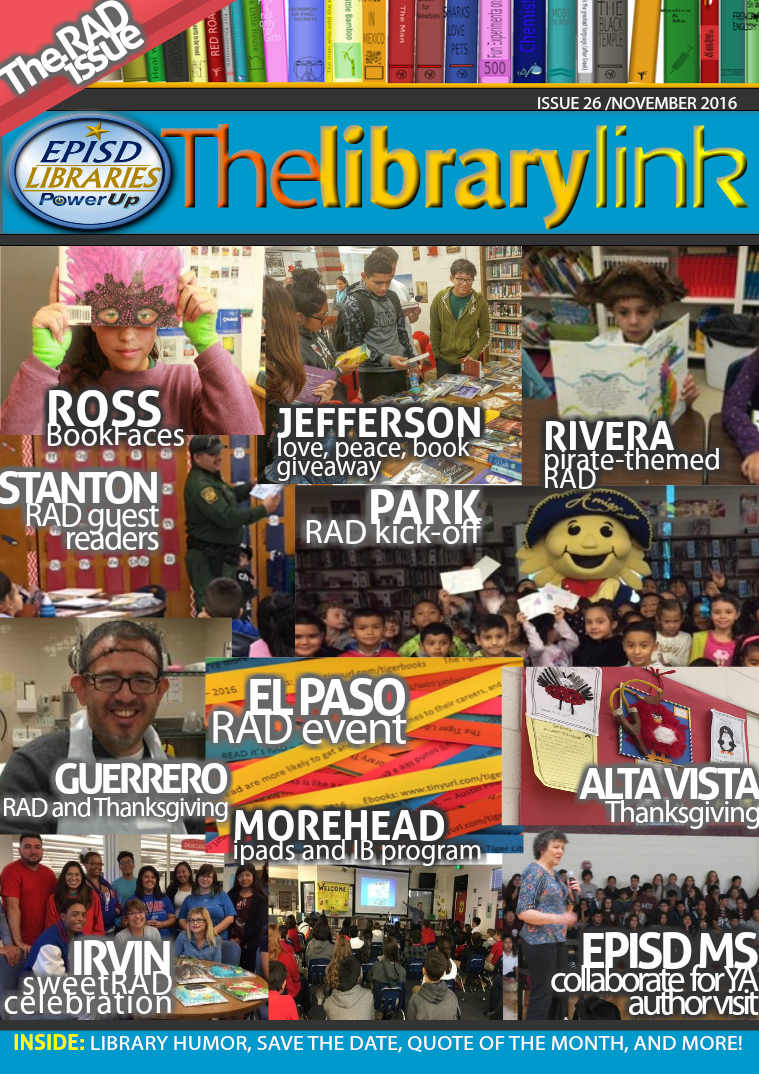 The Library Link November 2016 - the RAD issue