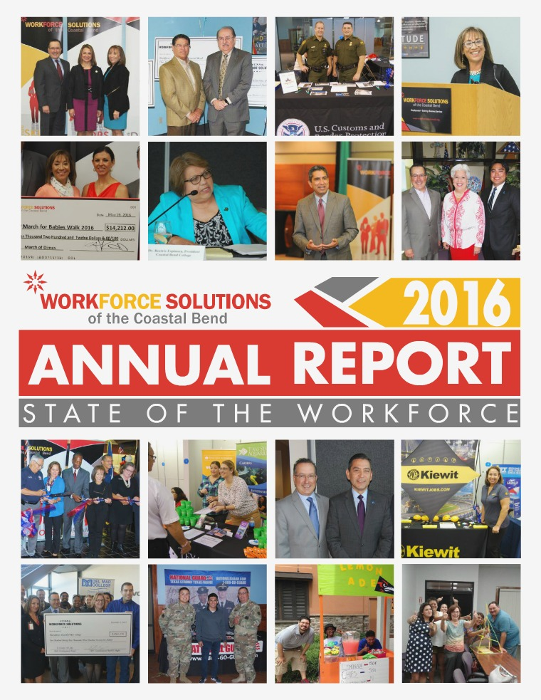 2016 Annual Report - State of the Workforce 2016 Annual Report - State of the Workforce