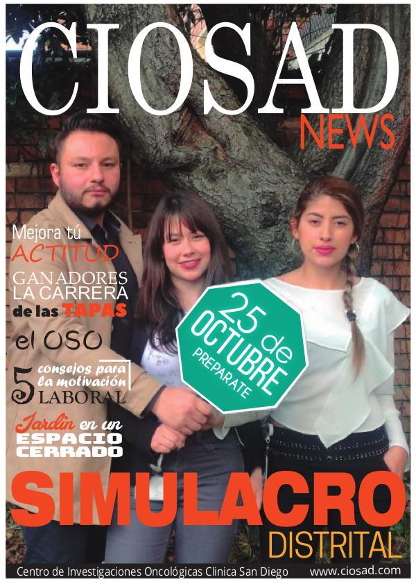 CIOSAD News - EDICIÓN JULIO 2017