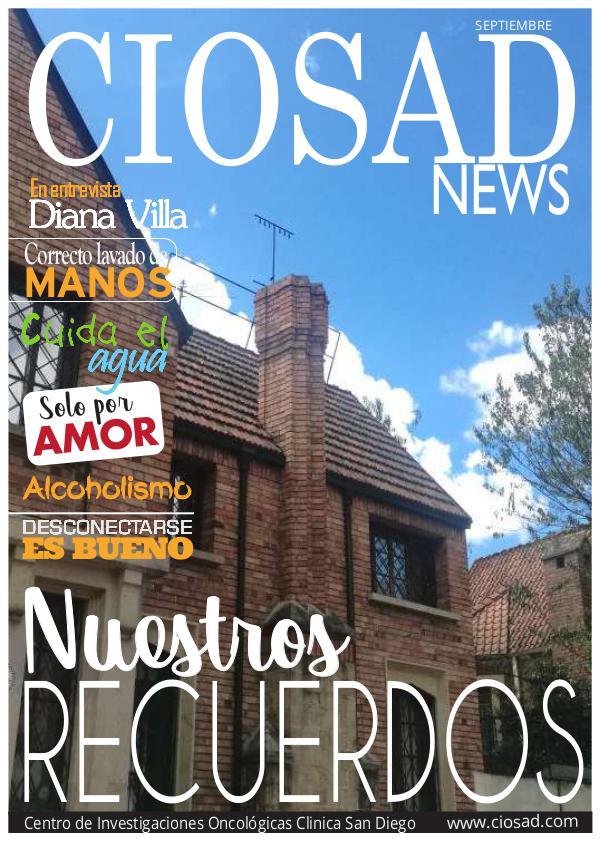 CIOSAD News - EDICIÓN SEPTIEMBRE 2017