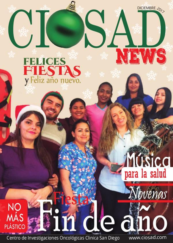 CIOSAD News CIOSAD News - EDICIÓN DICIEMBRE 2017
