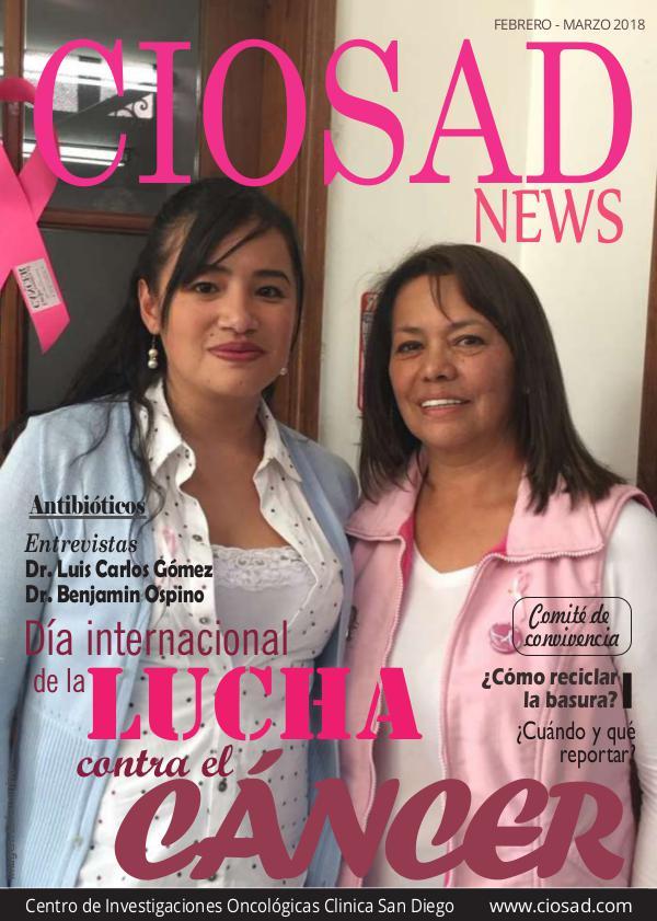 CIOSAD News - EDICIÓN FEBRERO MARZO 2018