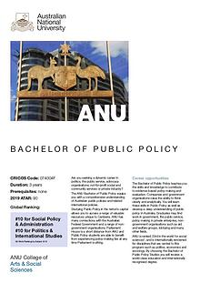 Bachelor of Public Policy
