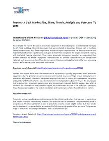 Pneumatic Seal Market Research Reports Analysis To 2021