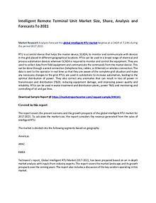 Intelligent Remote Terminal Unit Market Report Analysis to 2021