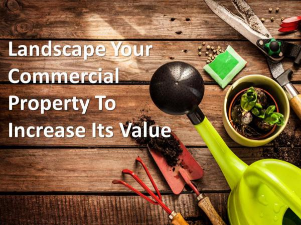 Landscape Your Commercial Property To Increase Its Value Landscape Your Commercial Property To Increase Its