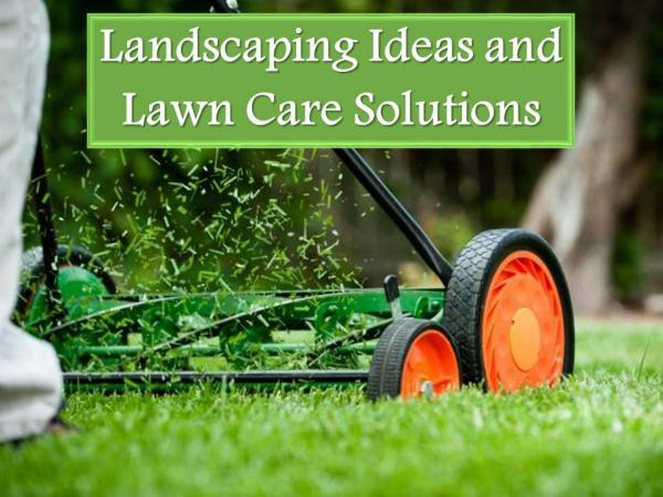 Landscaping Ideas and Lawn Care Solutions Landscaping Ideas and Lawn Care Solutions
