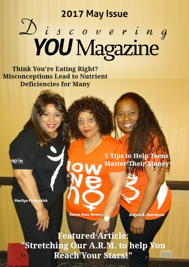 Discovering YOU Magazine May 2017 Issue