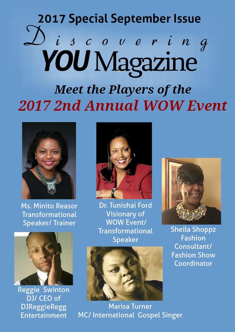 Discovering YOU Magazine September 2017