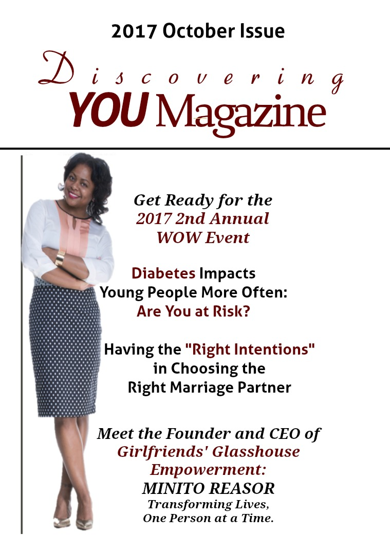 Discovering YOU Magazine October 2017 Issue