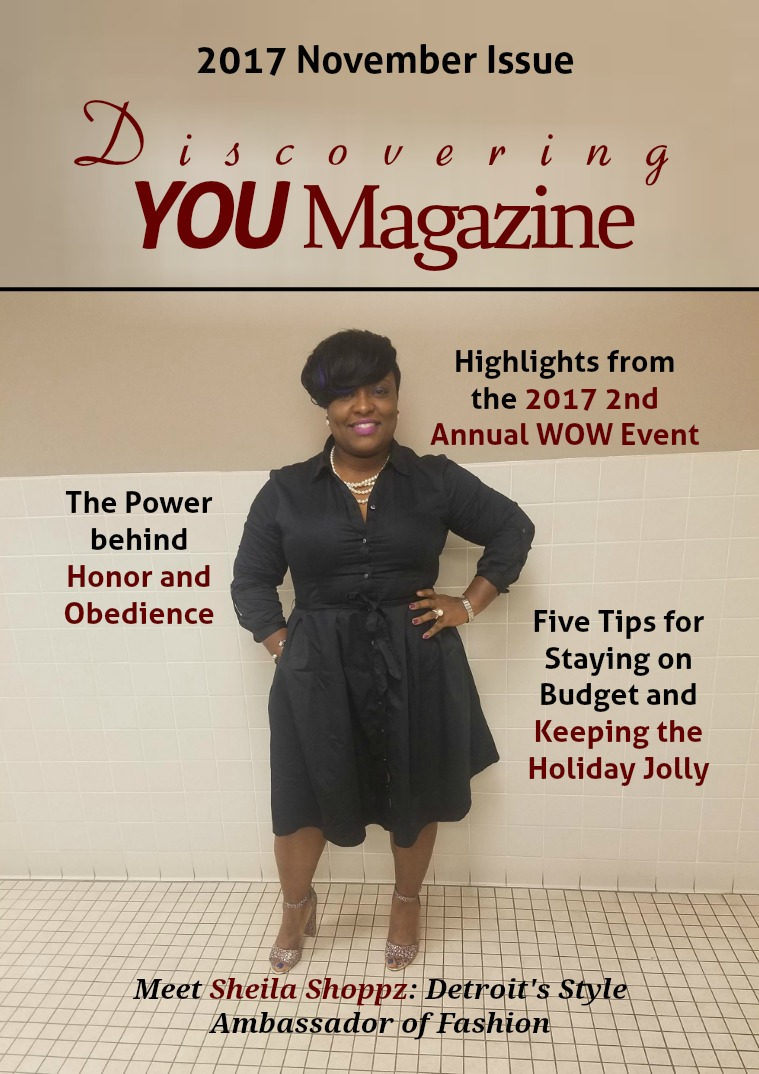 Discovering YOU Magazine November 2017 Issue