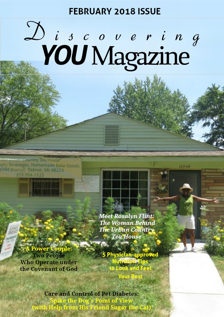Discovering YOU Magazine February 2018 Issue
