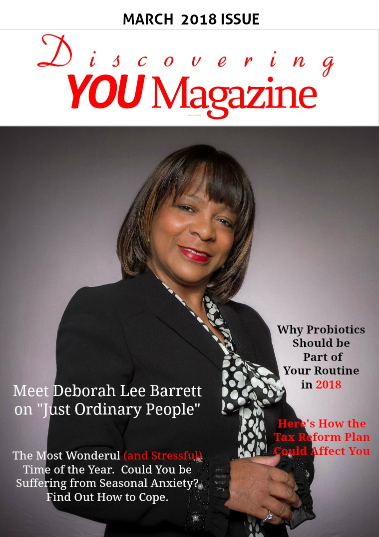 Discovering YOU Magazine March 2018 Issue