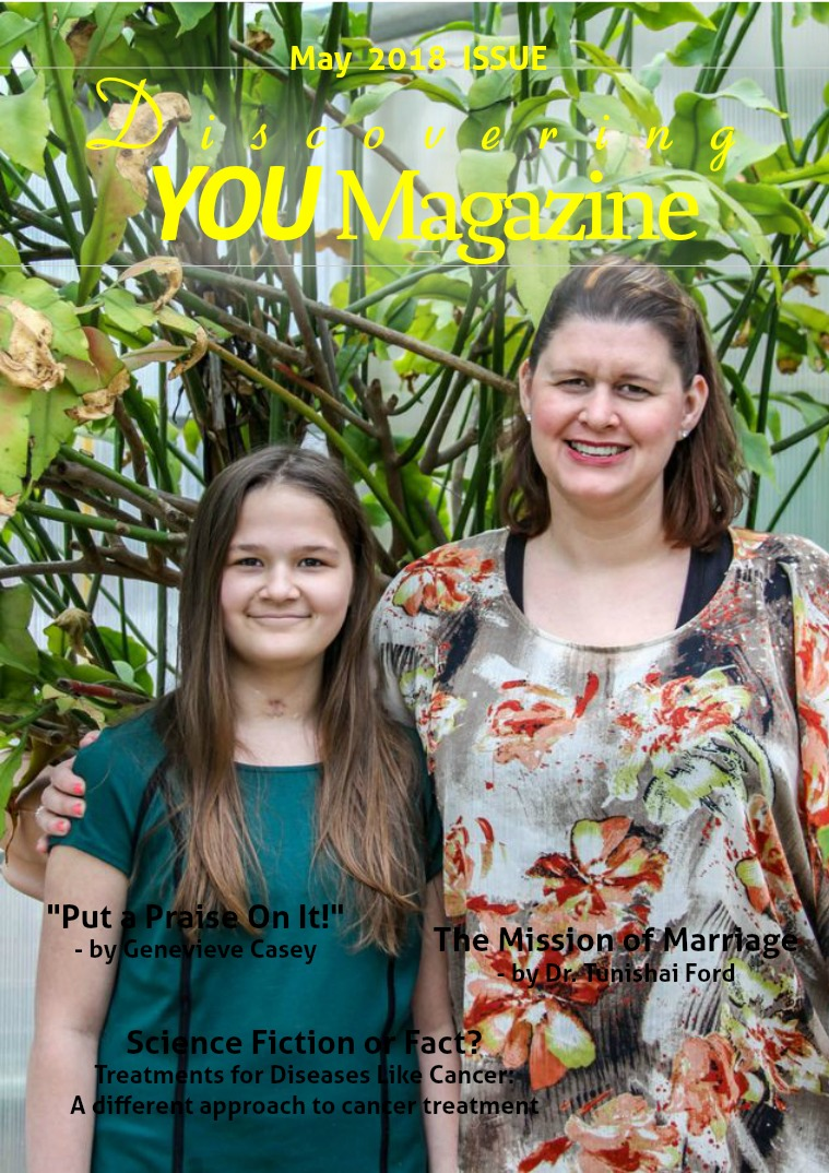 Discovering YOU Magazine May 2018 Issue