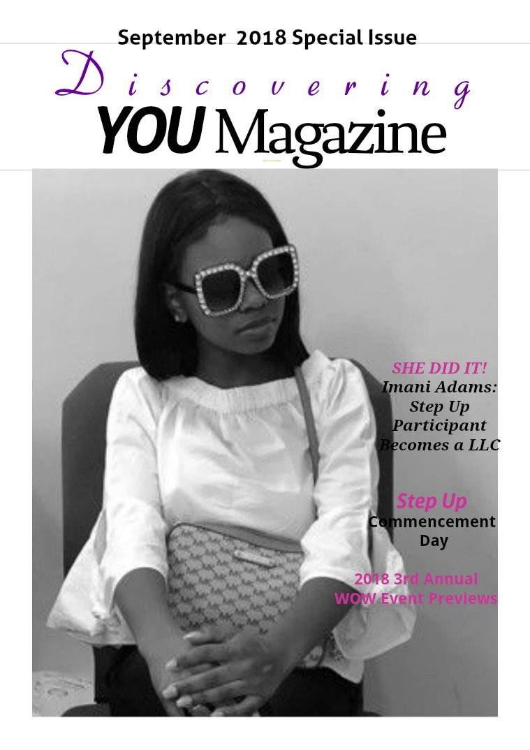 Discovering YOU Magazine September 2018 Issue