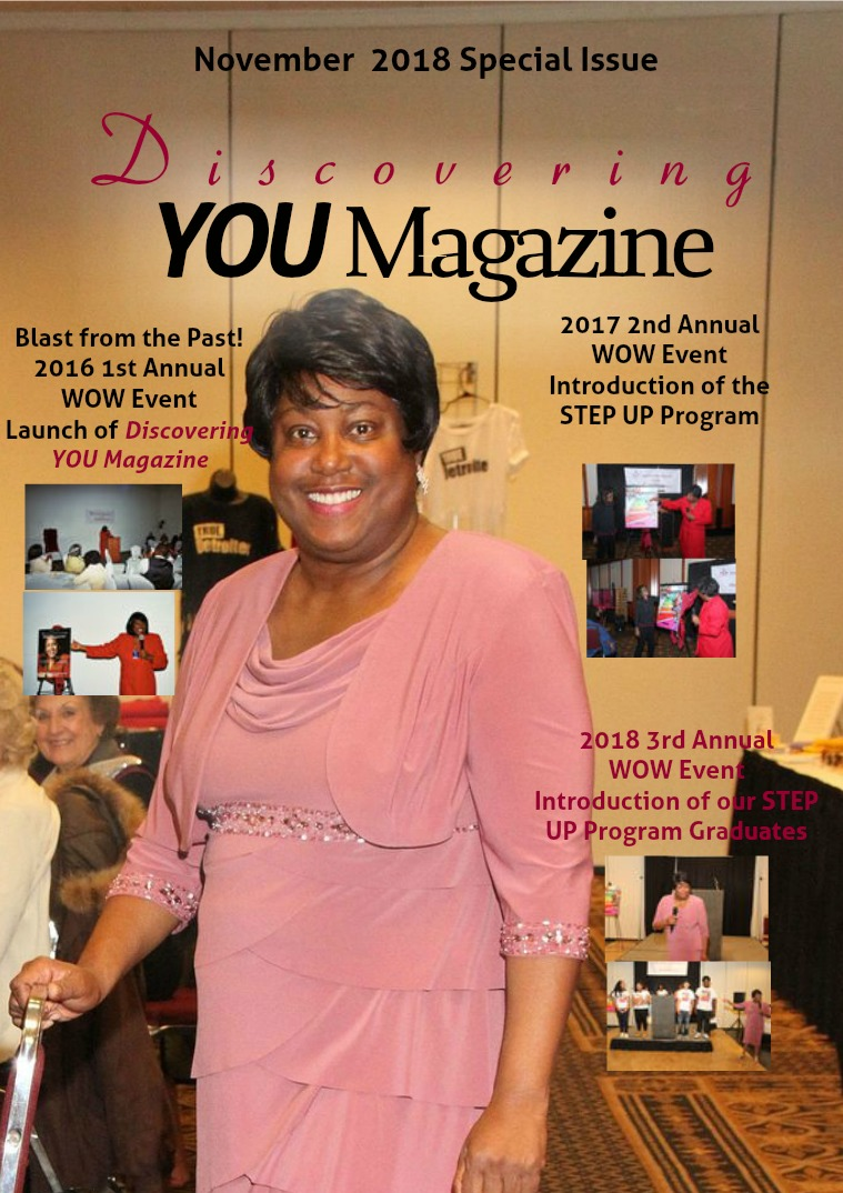 Discovering YOU Magazine November 2018 Issue