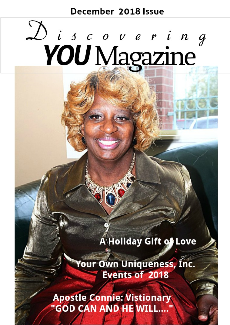 Discovering YOU Magazine December 2018 Issue