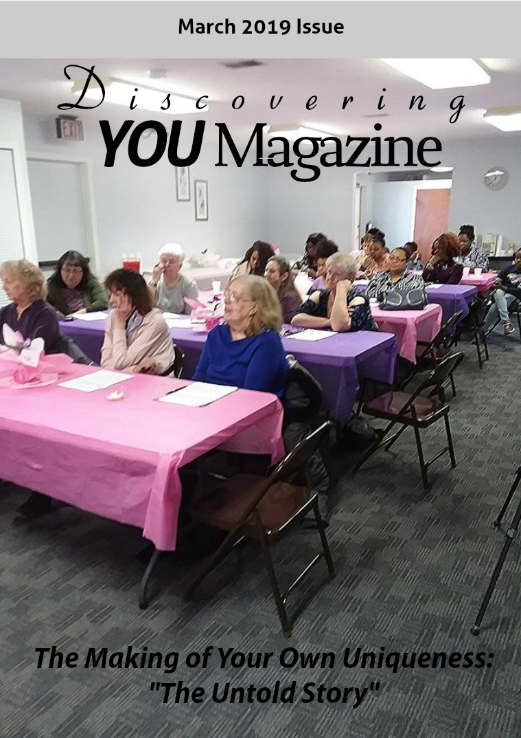 Discovering YOU Magazine March 2019 Issue