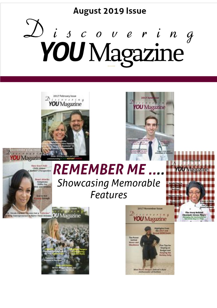 Discovering YOU Magazine August 2019 Issue