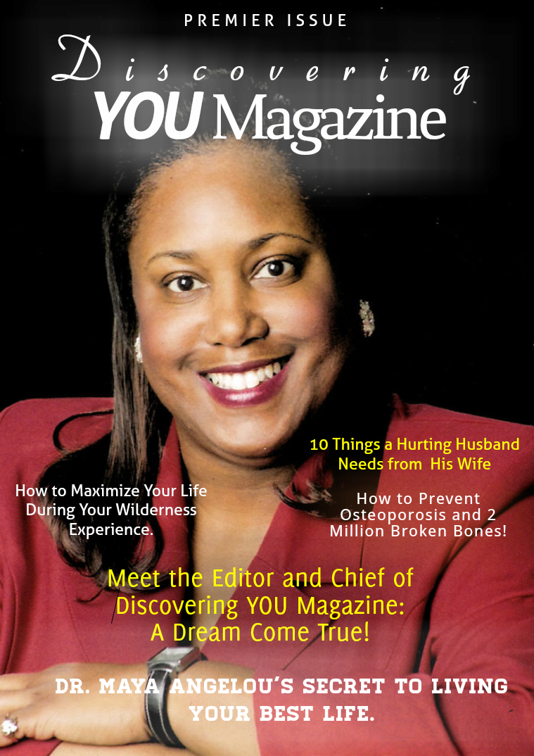 Discovering YOU Magazine PREMIERE 2016 ISSUE #1