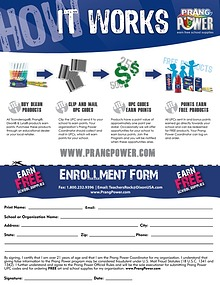 Prang Power Enrollment Form
