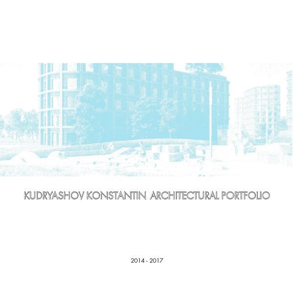 Konstantin Kudryashov Portfolio Portfolio
