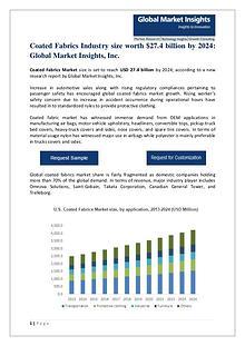 Coated Fabrics Market size worth $27.4 billion by 2024