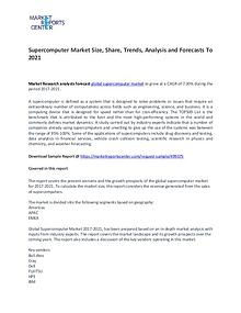 Supercomputer Market Size, Share, Trends, Analysis and Forecasts