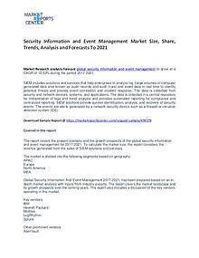 Security Information and Event Management Market Growth and Trends