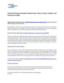 Industrial Process Recorders Market Research Report Analysis To 2021