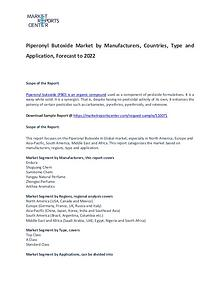 Piperonyl Butoxide Market Trends, Size, Share and Forecast
