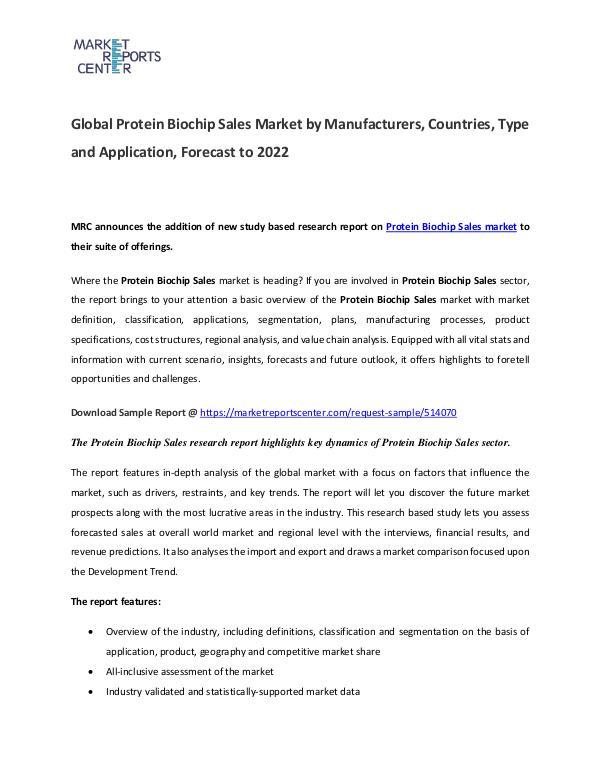 Optical Attenuators Market 2017 Protein Biochip Market