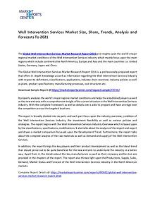 Well Intervention Services Market Size, Share, Growth and Analysis