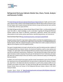 Refrigerated Mortuary Cabinets Market Size, Share, Trends Analysis