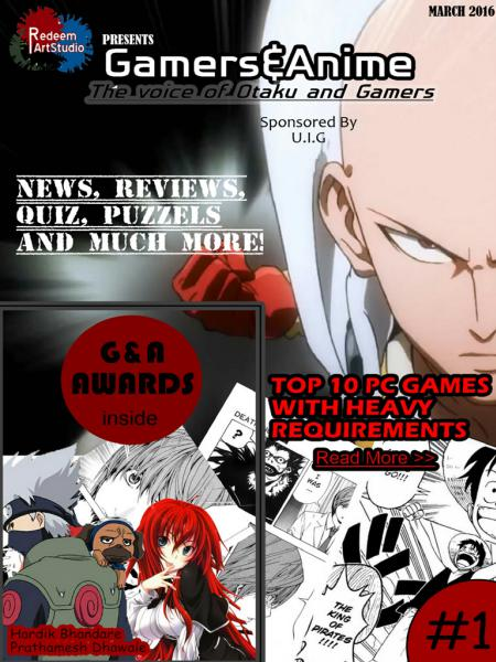 Gamers & Anime March 2016