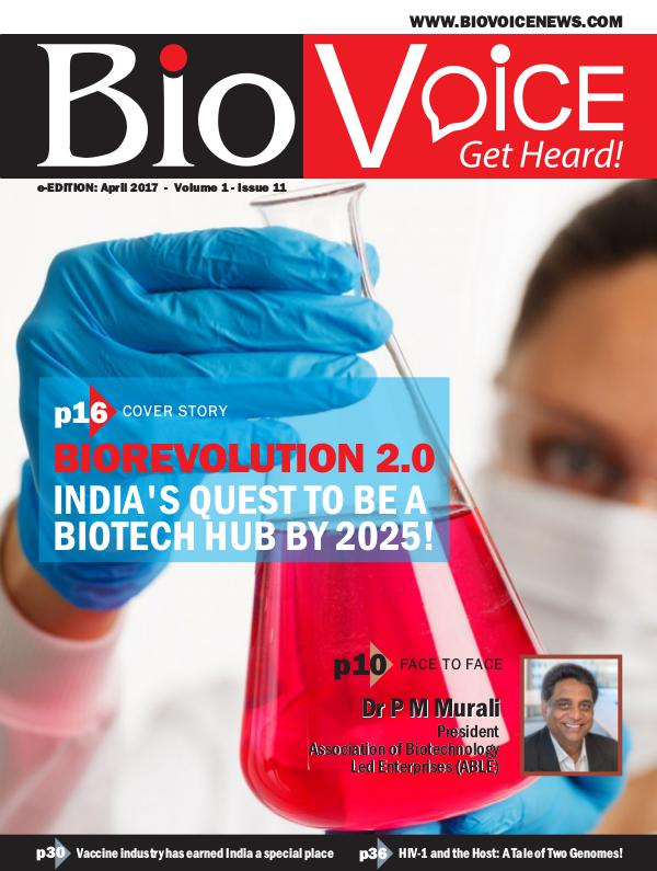 BioVoice News April 2017 Issue 11 Volume 1