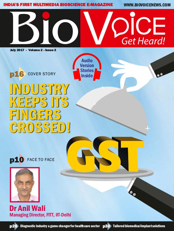 BioVoice News July 2017 Issue 2 Volume 2