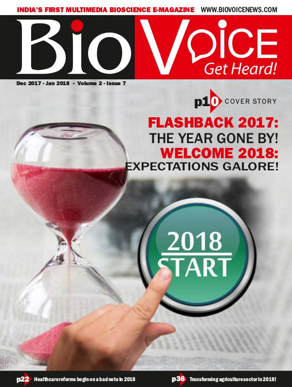 BioVoice News December 2017-January 2018 Issue 7 Volume 2