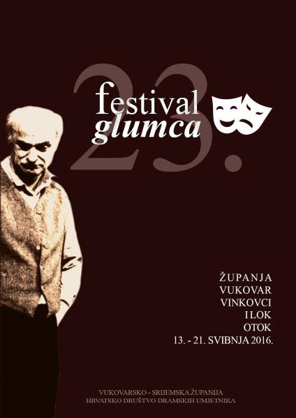 FESTIVAL GLUMCA 23. FESTIVAL GLUMCA