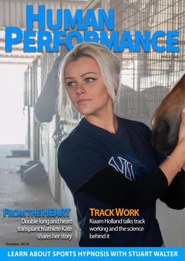 Human Performance Magazine October 2016